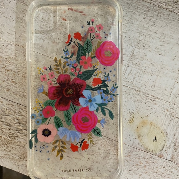 Rifle Paper Co cell phone case